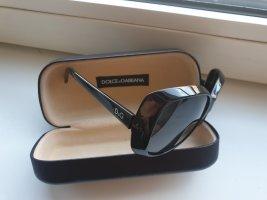 Dolce&Gabbana Sonnenbrille, schwarz, groß