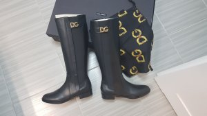 Dolce & Gabbana Winter Boots black leather