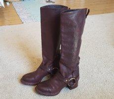 Dolce & Gabbana Heel Boots brown violet
