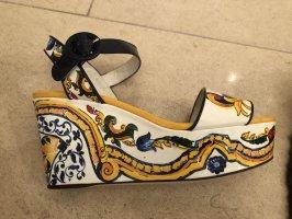 Dolce@Gabbana Wedges, Gr. 39, bunt