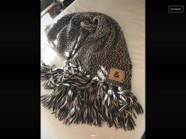 Dolce & Gabbana Sciarpa di lana marrone-beige