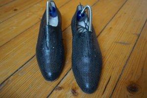 Donna Carolina Größe 38 Schnürschuhe schwarz