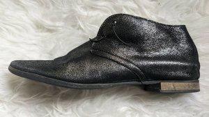 Donna Carolina Zapatos sin cordones negro-color plata