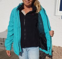 Maier Sports Double Jacket turquoise polyester