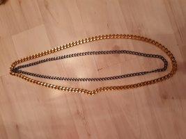 Łańcuch złoto-antracyt