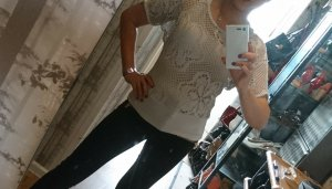 Doppellagiges Shirt, sandfarben
