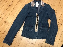 Dorothee Schumacher Jeansblazer Jacke mit Details Gr 38