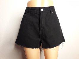 Dr.Denim Jeans Hotpants kurze Hose Shorts high waist Gr 36/38 29 schwarz