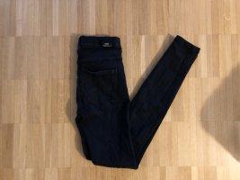 Dr Denim Super Skinny Destroyed Jeans S Schwarz
