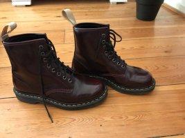 Doc Martens Lace-up Boots bordeaux