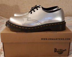 Dr. Martens 1461 Vegan Silver Chrome
