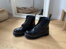 Gothic laarzen zwart