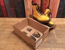 Dr. Martens Smooth yellow/gelb, Gr. 36