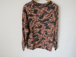 Weekday Long Sweater salmon-anthracite