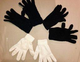 drei Paar Handschuhe