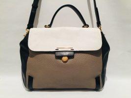 Dreifarbige Marc Jacobs Handtasche mit langem Gurt