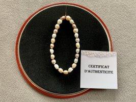 Brazalete de perlas multicolor