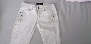 Drykorn 7/8 Jeans Silberweiß