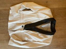 Drykorn Blazer mit Leder-Revers