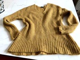 Drykorn Pullover, rostgelb, 36, grob Strick