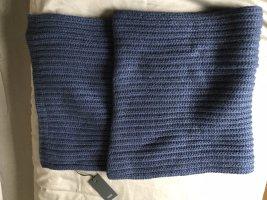 Drykorn Wollen sjaal donkerblauw
