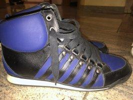 Dsquared2 Sneaker alta nero-blu scuro