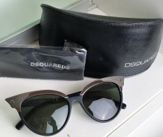 Dsquared2 Butterfly Glasses black-silver-colored synthetic material