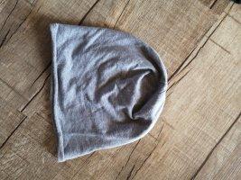 Chapeau en tissu gris clair-gris