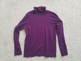 Dünner Rollkragenpullover Pullover Oberteil in dunkel lila Gr. 38 von s.Oliver