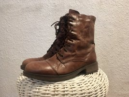 Duffy Lace-up Boots brown