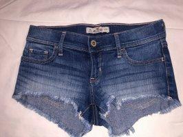 Dunkel Blaue Hot Pants