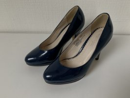 Buffalo girl Classic Court Shoe dark blue