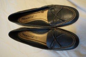 Tamaris Mary Jane Ballerinas black-dark blue