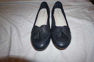 Roberto Santi Mary Jane Ballerinas black-dark blue