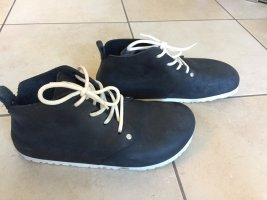 Birkenstock Lace Shoes dark blue leather