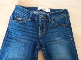 Dunkelblaue Hollister skinny Jeans, OR, w24, L31