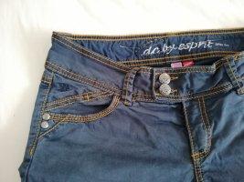 edc by Esprit Pantalon cinq poches bleu foncé