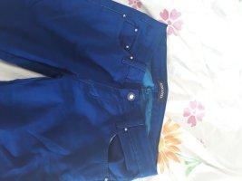 dunkelblaue jeans mit reißverschlüssen