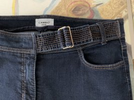 Cambio 7/8-jeans donkerblauw