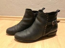 Caprice Chelsea laarzen donkerblauw