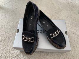 Dunkelblaue Loafers von Gabor Gr. 37,5 (4,5)