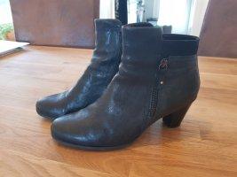 Dunkelblaue Stiefel von Gabor Gr. 7 Echtleder *neuwertig