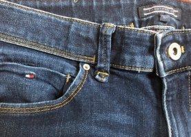 Tommy Hilfiger Pantalone cinque tasche blu scuro Denim
