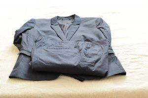 Cinque Business Suit dark blue cotton