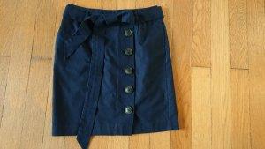 Boden Falda de lino azul oscuro