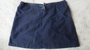 Decathlon Falda pantalón azul oscuro