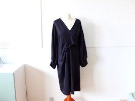 dunkelblaues COS Kleid Gr. M 40 Midikleid