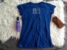 DC Shoes Koszulka niebieski-biały