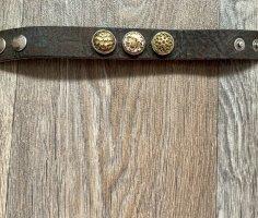 Dunkelbraun-goldenes NOOSA-Armband
