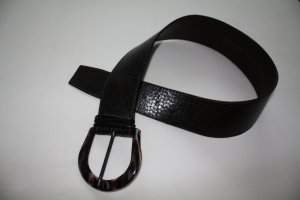 Cinturón de cadera marrón oscuro Cuero
